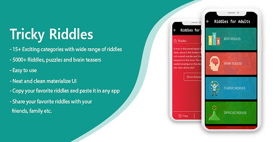 Riddles For All- Puzzle Game