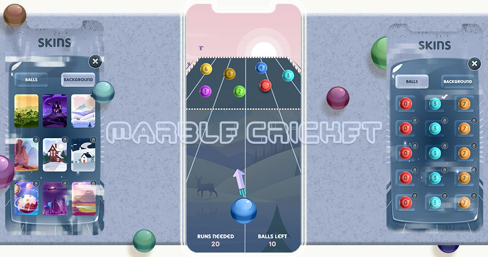 Swipe Marble – Cricket Game
